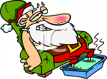 Funny Christmas Clipart.