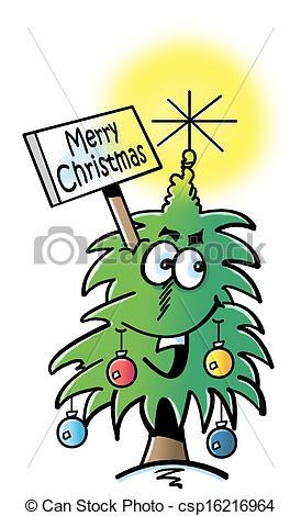 Funny Christmas tree.