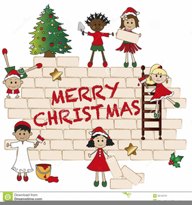 Funny Christmas Clipart For Kids.