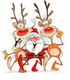 Christmas Funny Clipart.