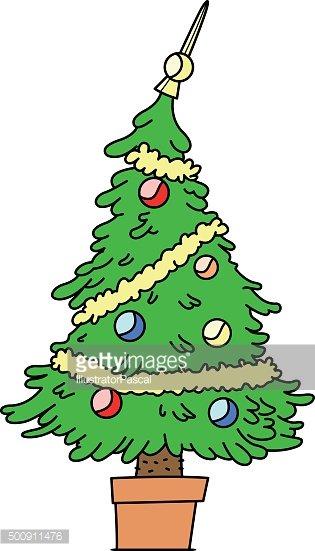 Funny Christmas Tree premium clipart.