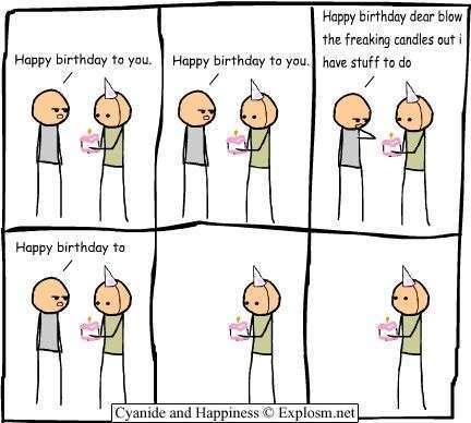 78+ Funny Birthday Clip Art.