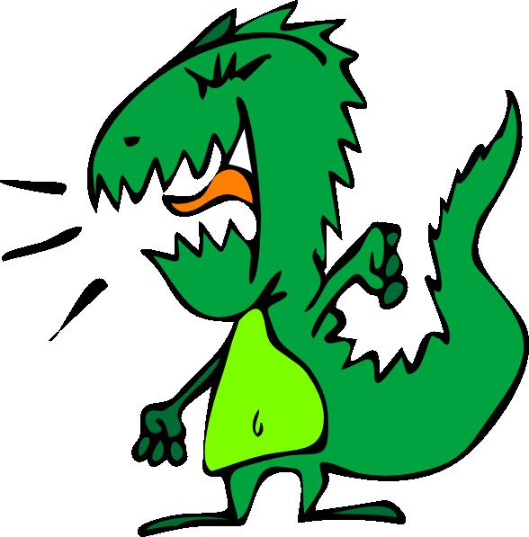 Dinosaur Clip Art at Clker.com.