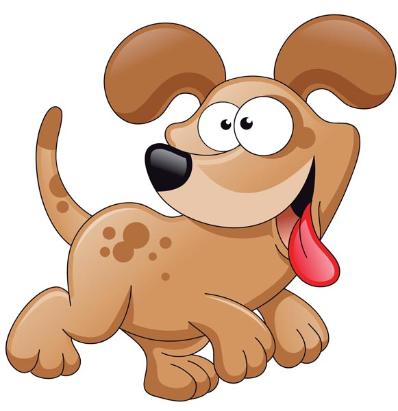 Funny Dog Clipart.