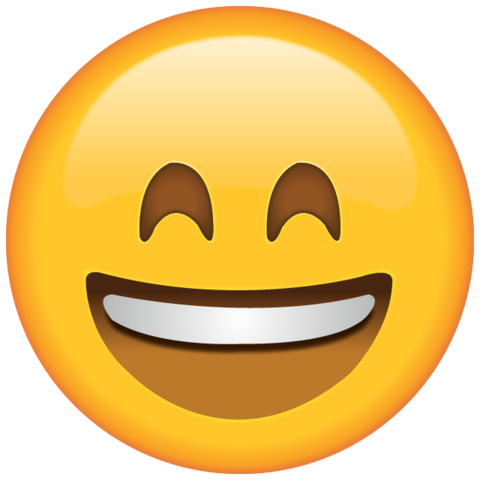 Smiling Emoji with Smiling Eyes.