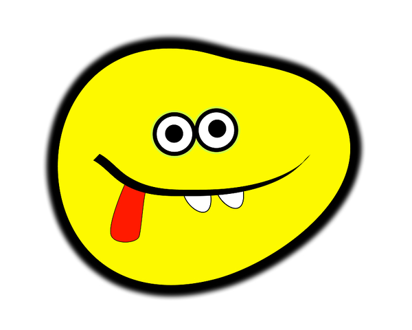Cartoon Funny Faces Clipart.