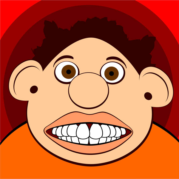 Funny Face Clipart.
