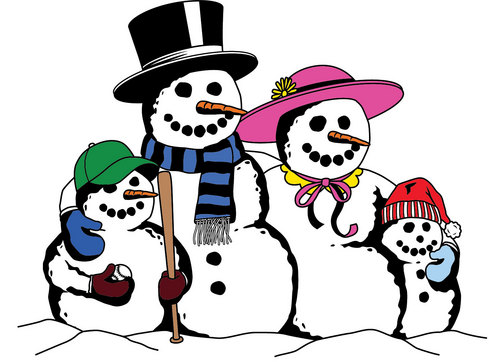 Snowman Family Clipart & Snowman Family Clip Art Images.