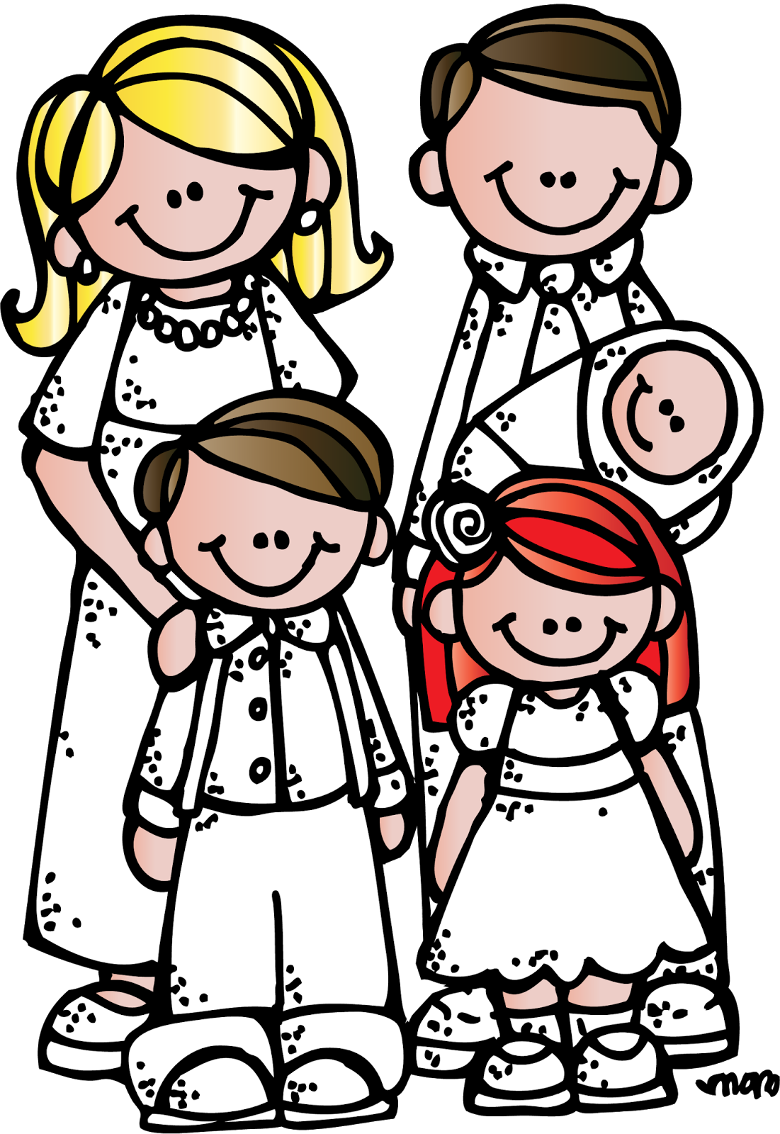 Lds Family Clipart.