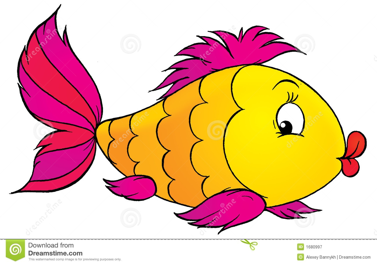 Funny Fish Clipart.