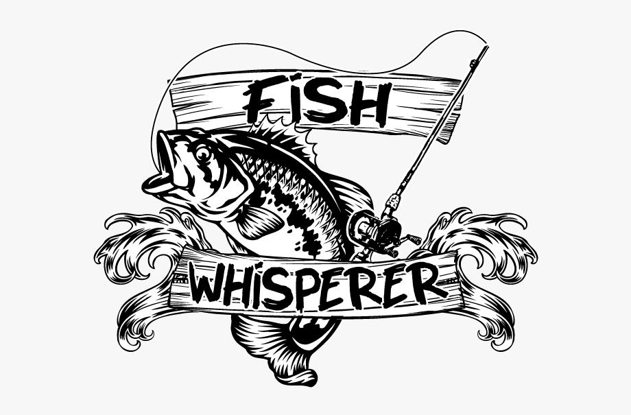 Fish Whisperer Fishing Humor Funny Rod Lures Fisherman.