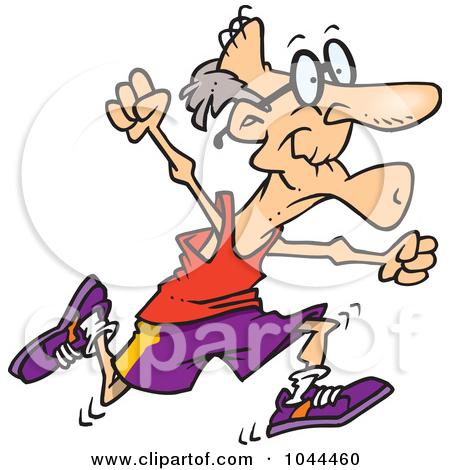 Senior Fitness Free Clipart.