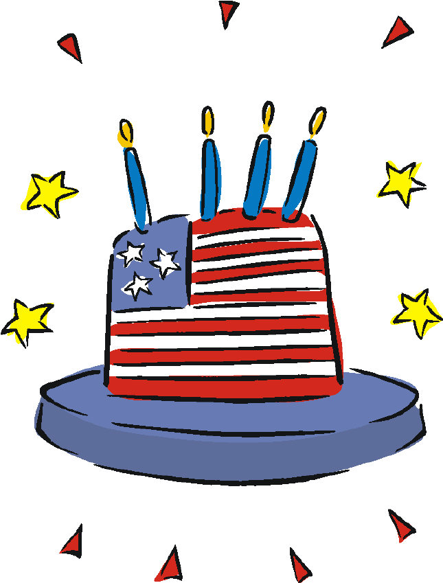 funny fourth of july clipart #15