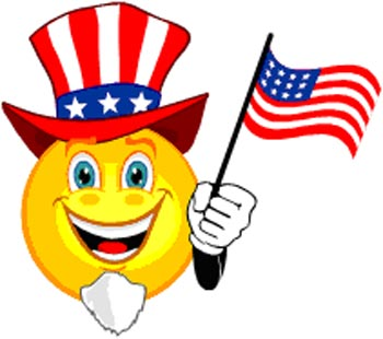 Happy 4th of July Funny Graphics Animated Images, Pictures Gif.