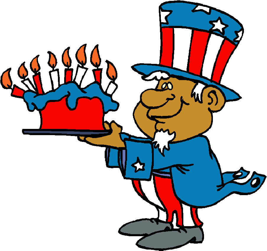 U.S.A.★Independence Day Free Funny Clip Art: Page 1 of 4th of.