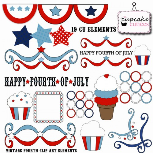 Funny Fourth Of July Clipart.