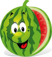 Image result for cartoon fruit faces.