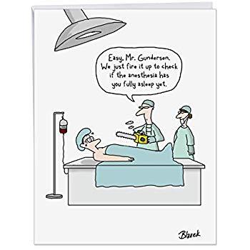 Amazon.com : Humorous Get Well Soon Card 8.5 x 11 Inch.