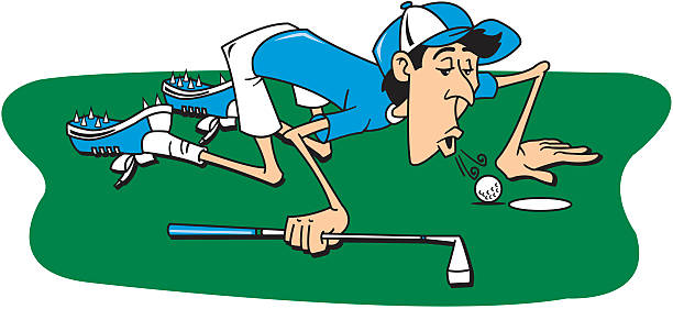 Golf Funny Clipart.