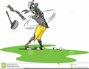 Free Golf Clipart Funny.