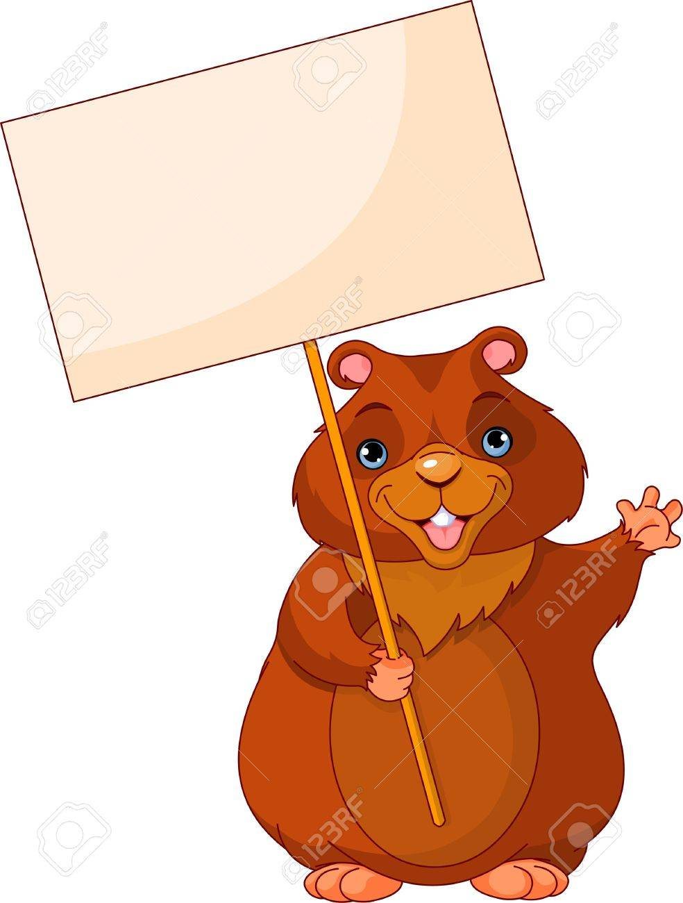 Funny groundhog clipart 7 » Clipart Station.