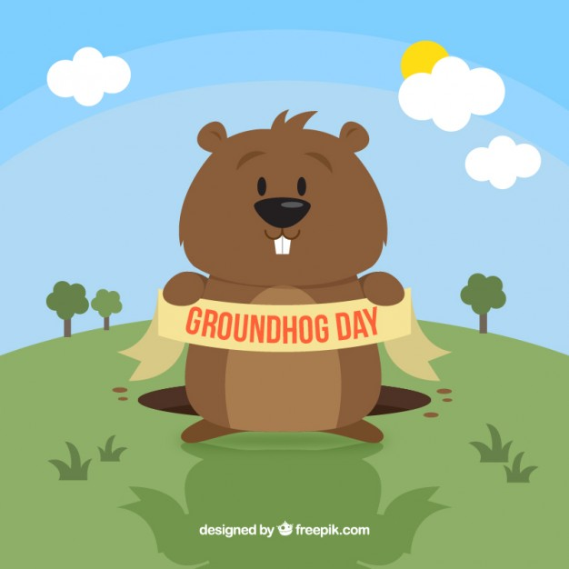 Funny groundhog clipart 8 » Clipart Station.