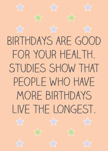 Funny Happy Birthday Clipart.