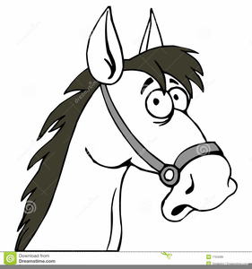 Funny Horse Clipart Free.