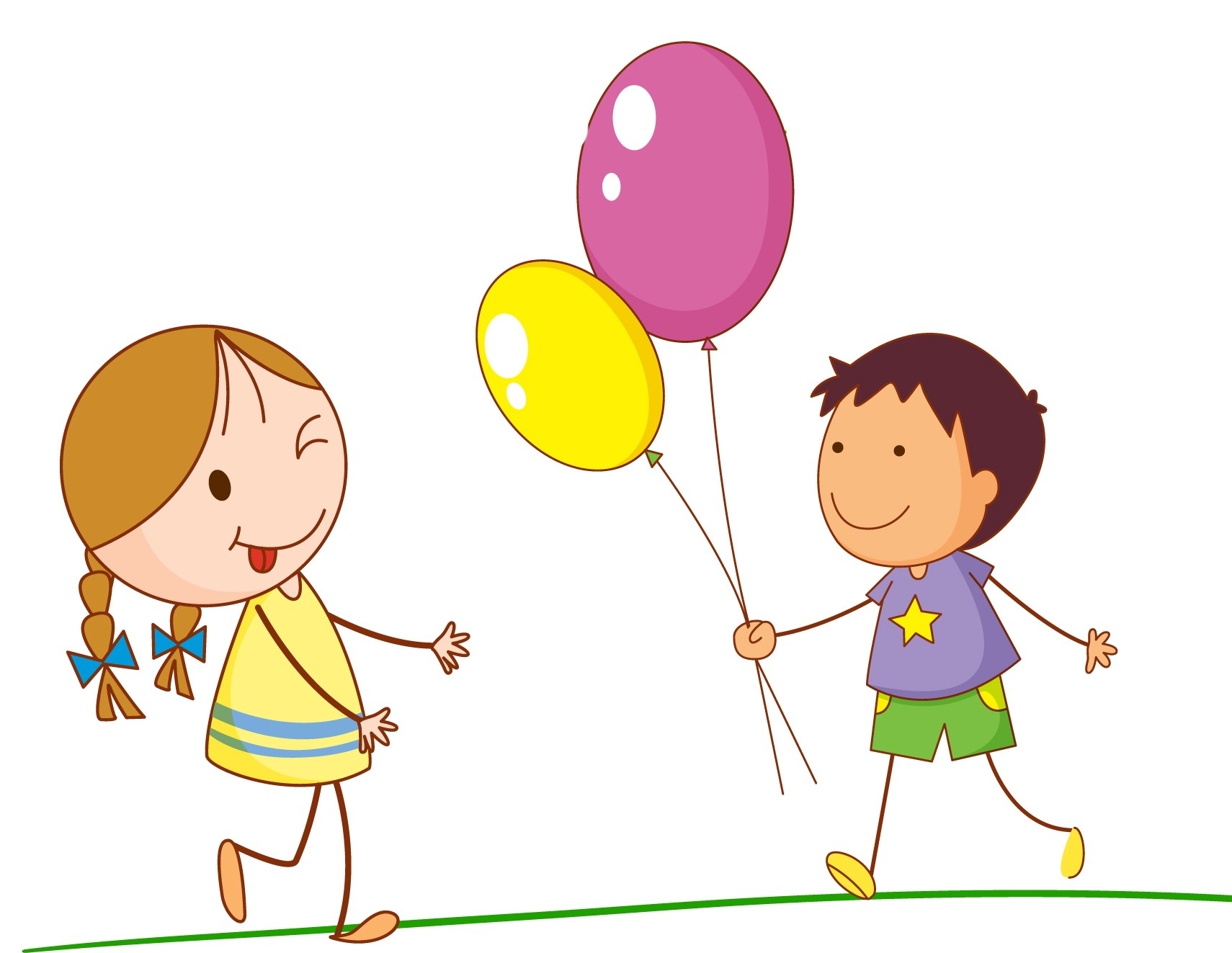 Funny Kids Clipart.