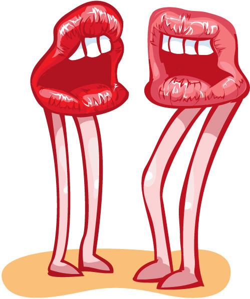 Lip kiss clip art free vector download (210,530 Free vector) for.