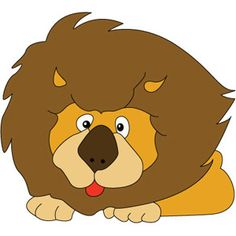 Lion Cartoon Stock Vector Clipart Vector Illustration Of Funny.