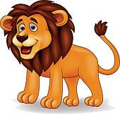 Funny Lion Clip Art.