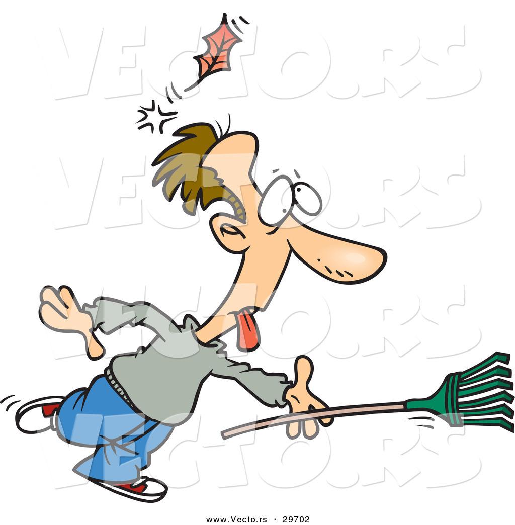 Funny Man Clipart Running.