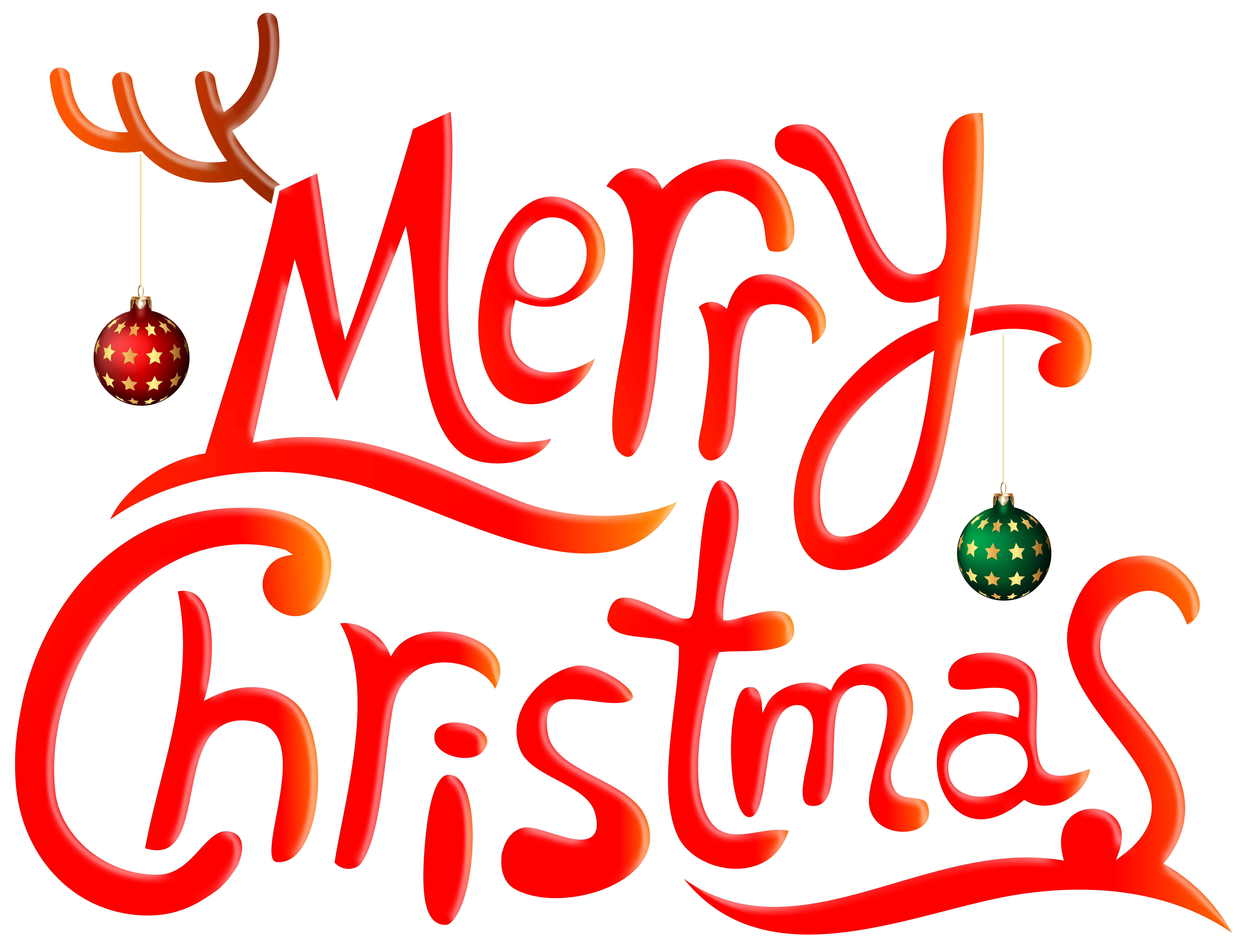 Merry Chrismas Funny PNG Clip Art Image.