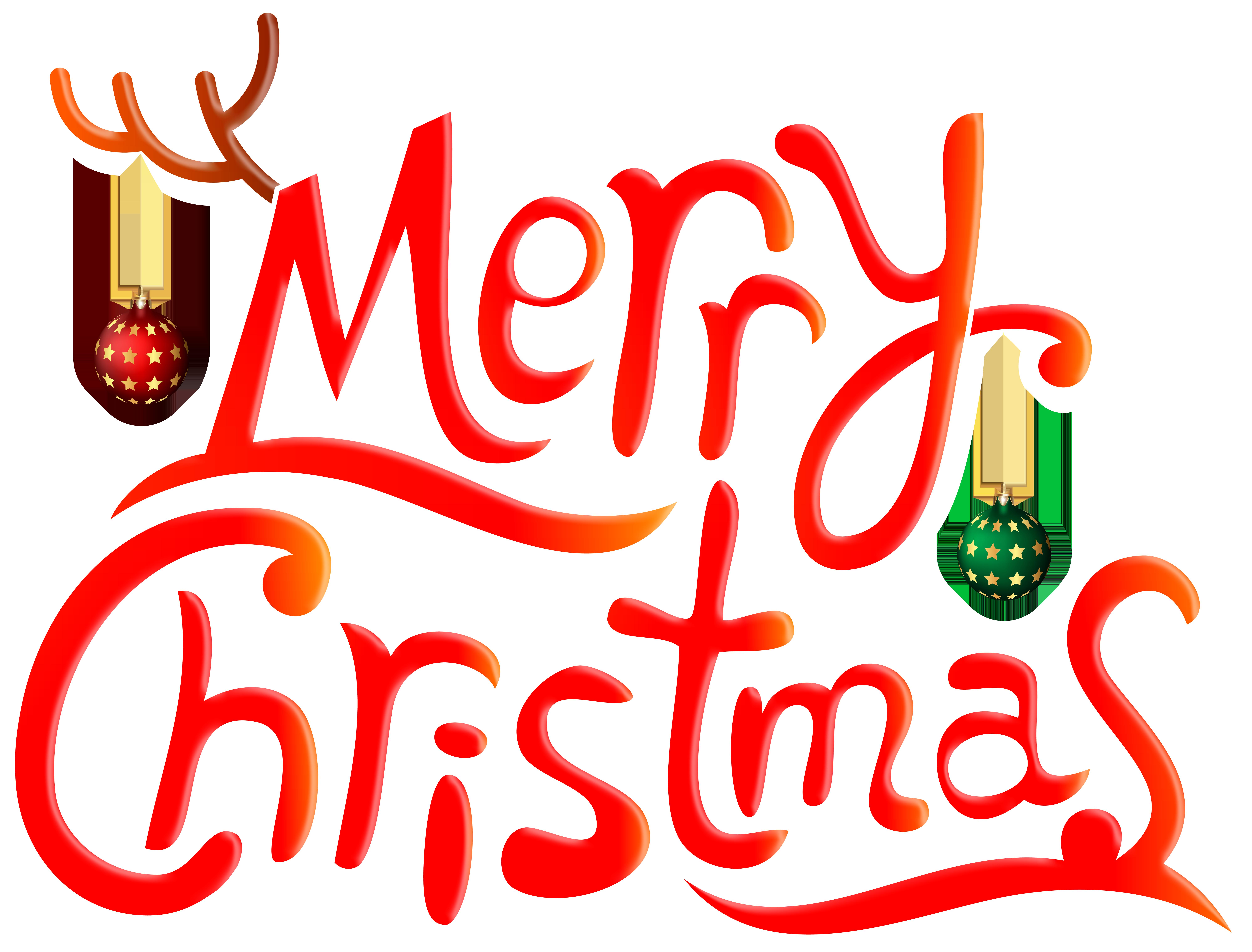 Merry Chrismas Funny PNG Clip Art Image.