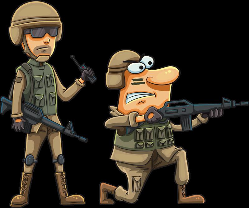 Military clipart army cartoon, Military army cartoon.