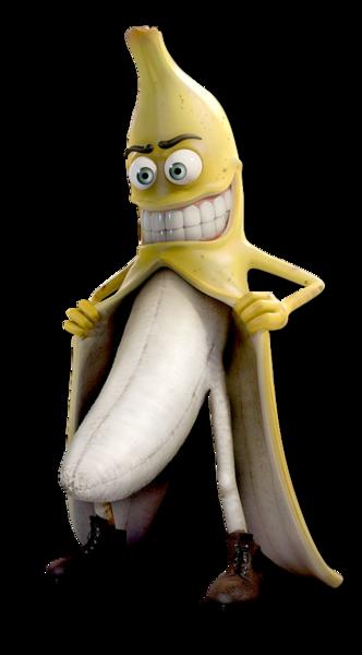Funny Banana (PNG).