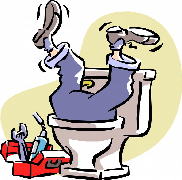 217 Plumber free clipart.