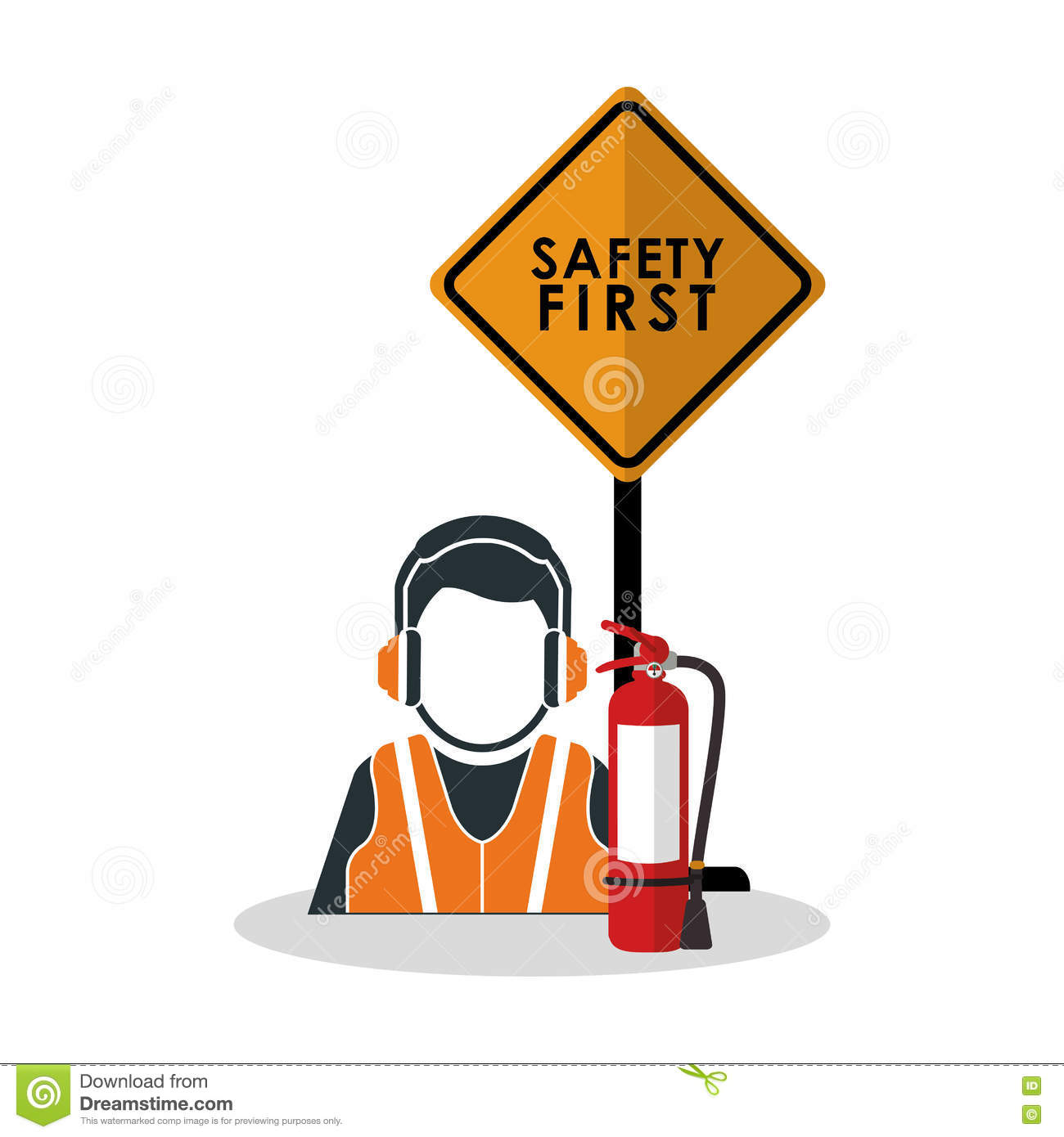 Industrial Safety Clip Art.