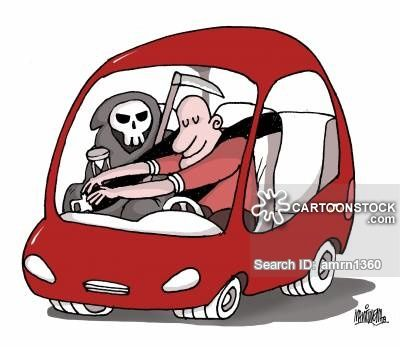 Driving Safety Cartoons and Comics.