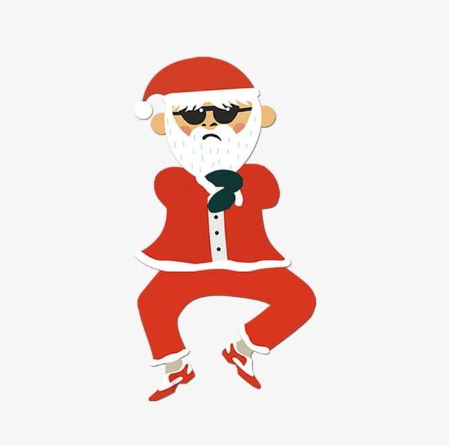Funny Cartoon Santa Claus PNG, Clipart, Cartoon, Cartoon.