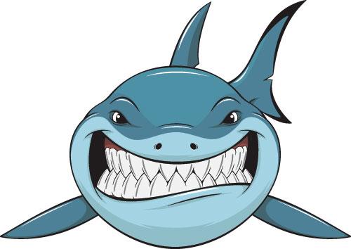 Shark Cartoon.