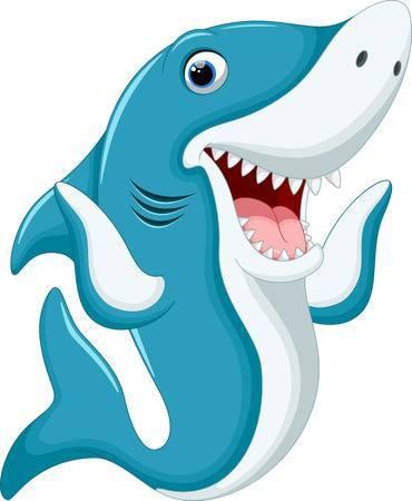 Funny shark clipart » Clipart Portal.