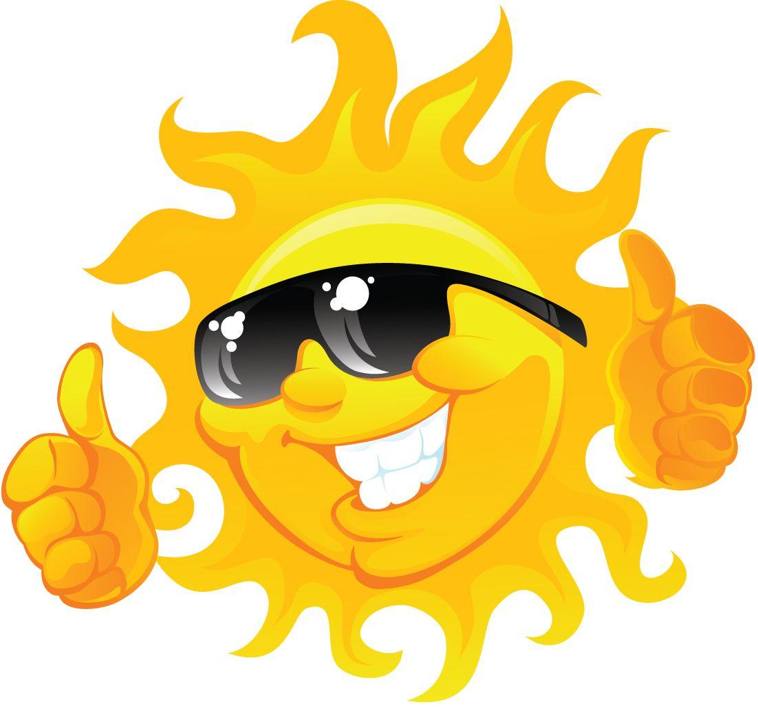 Summer Sun Clipart Summer sun blah clip art.