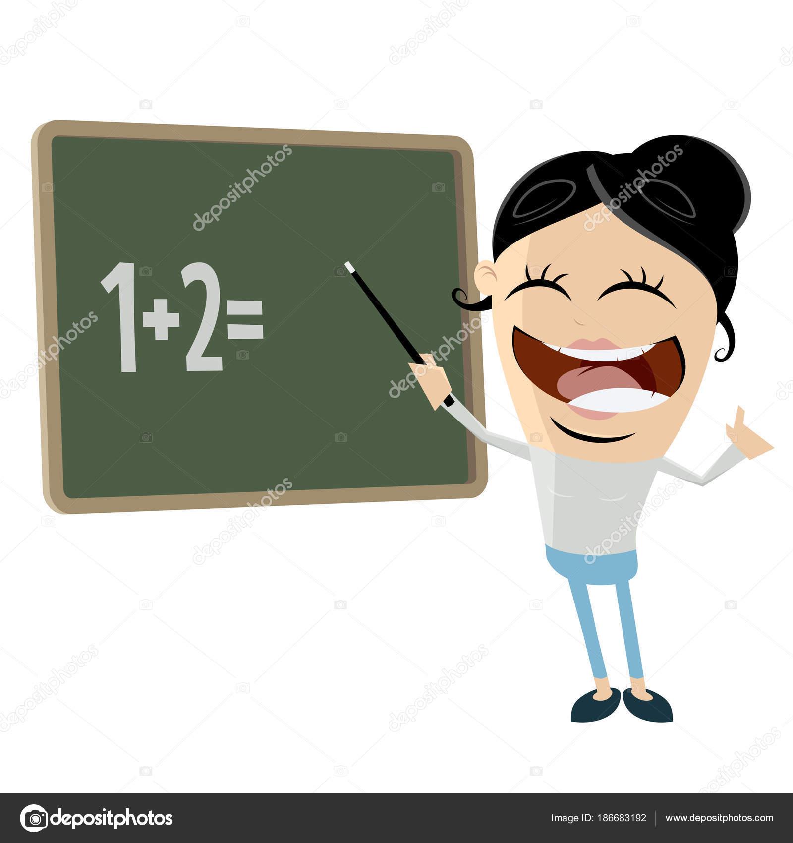 Clipart: funny teacher.