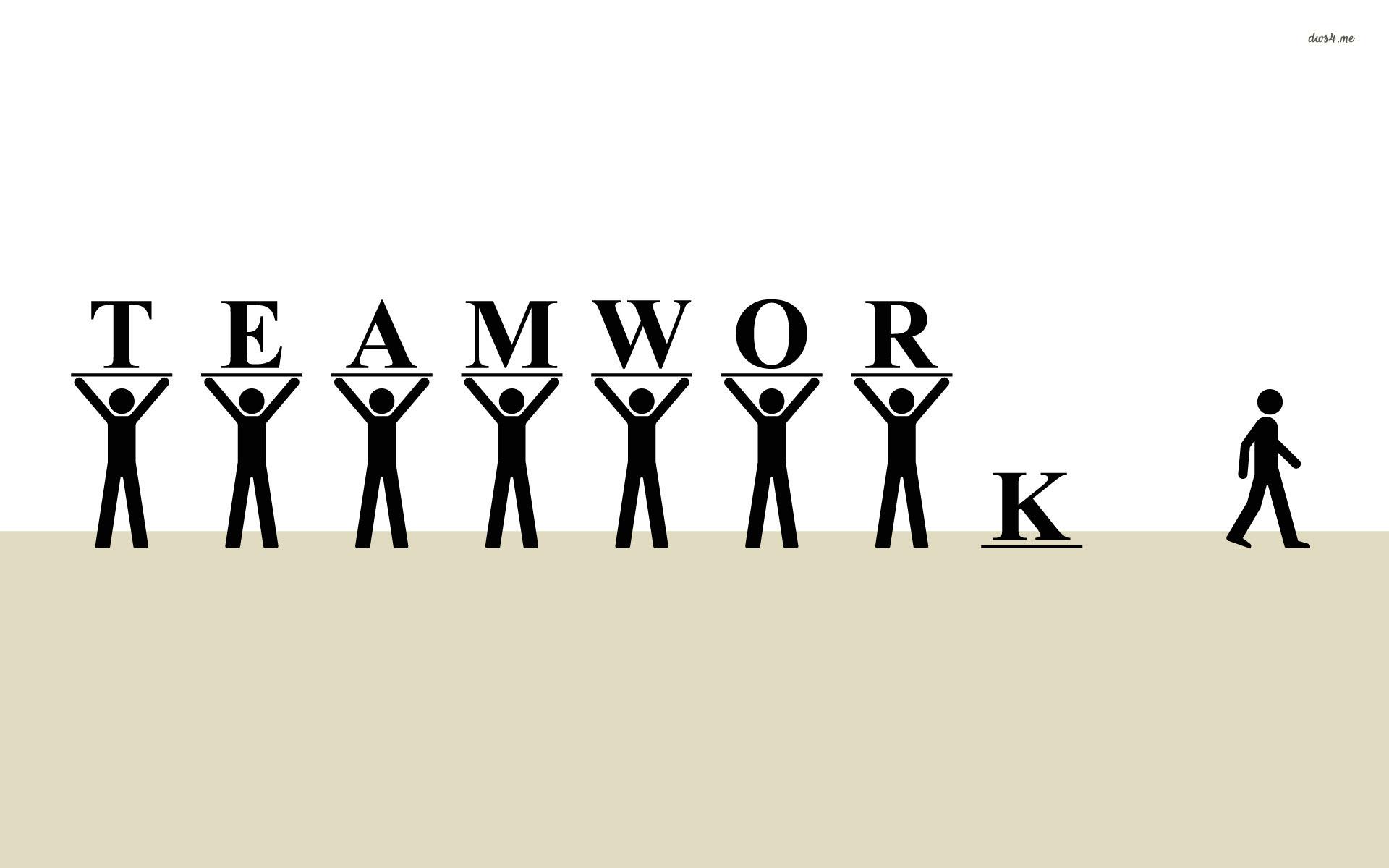 Teamwork Funny.