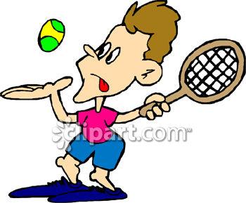 Tennis Cartoons Clipart.