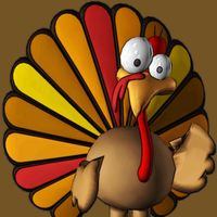 Funny Thanksgiving Clip Art Picture Turkey Pictures, Images.