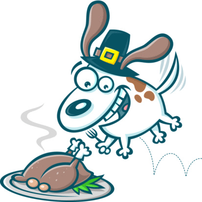 Funny Thanksgiving Clipart.