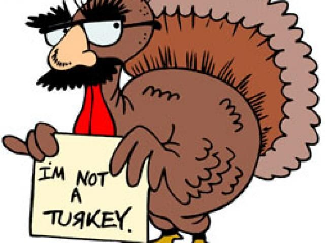 Funny Thanksgiving Clipart Free.